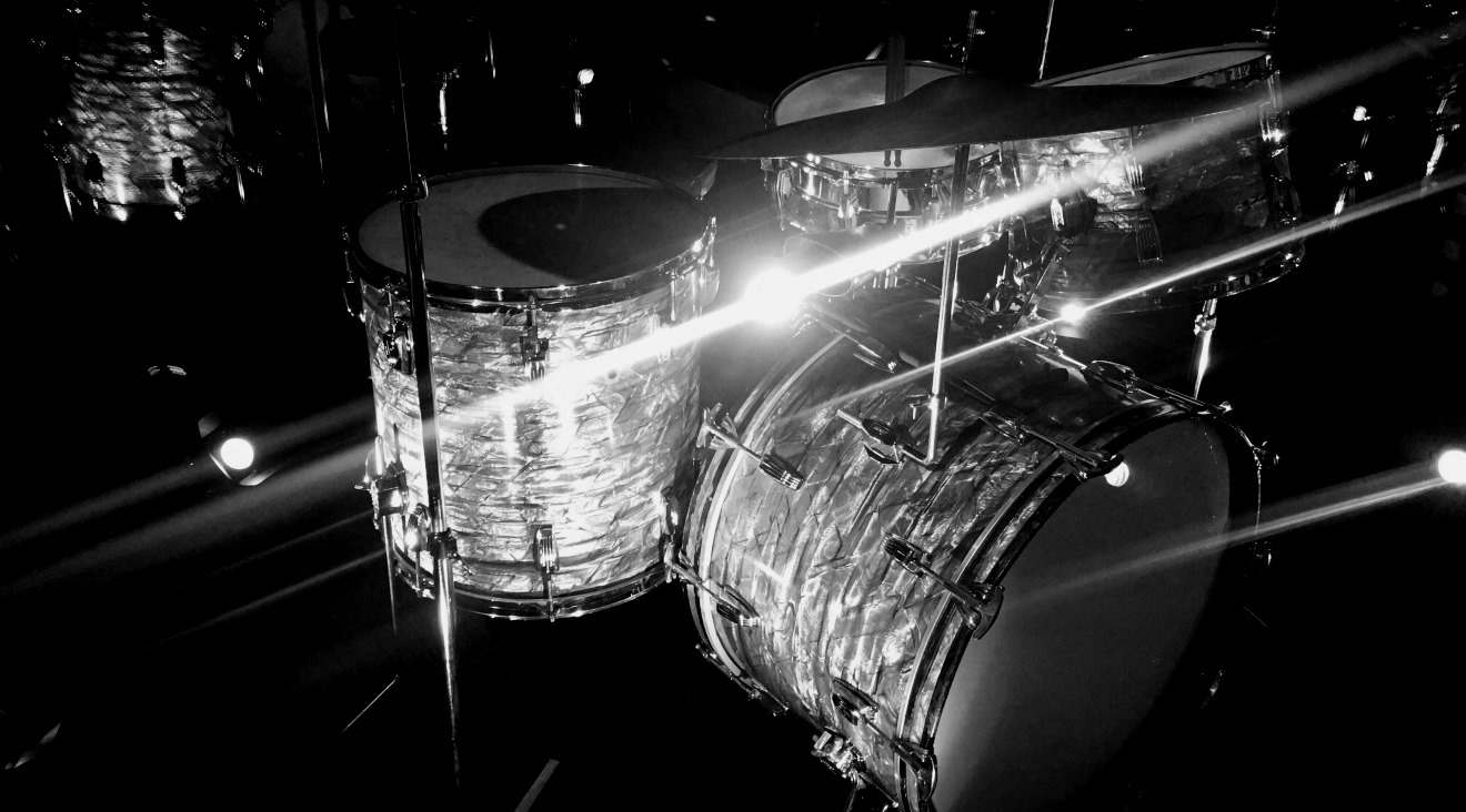 チャーリー・ワッツのドラム・セット