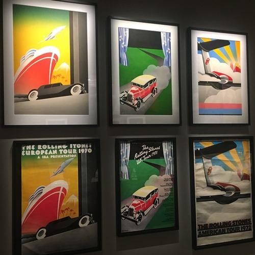 ストーンズ70年代ポスター